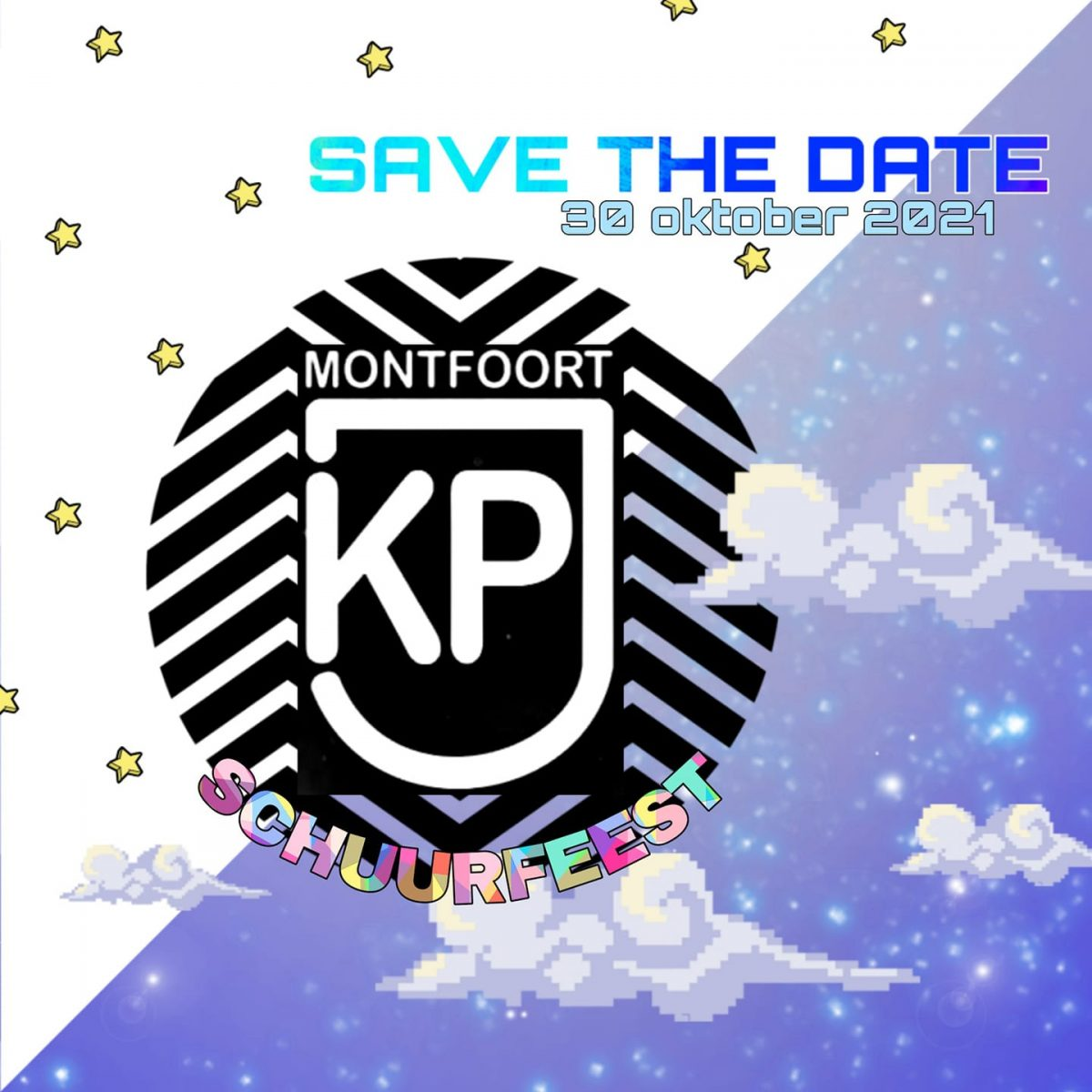 KPJ Schuurfeest 2021 poster